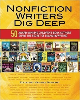 Nonfiction Writers Dig Deep book cover