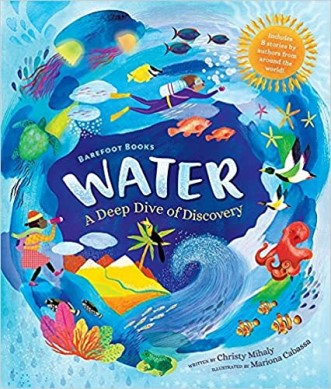 Water: A Deep Dive of Discovery book Cover